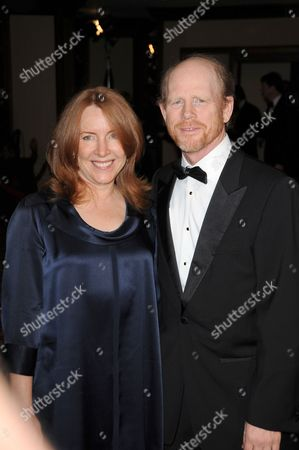 Stock Picture of Ron Howard and wife Cheryl Alley Howard