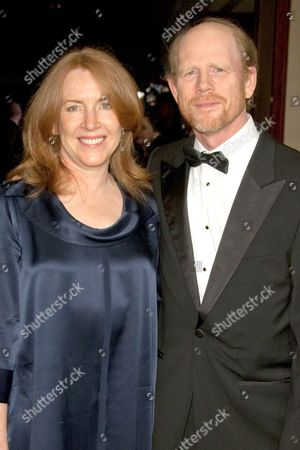 Ron Howard and wife Cheryl Alley Howard