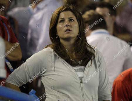 Roger Federer's girlfriend Miroslava Vavrinec