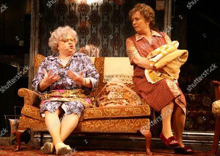 'Enjoy'  - Carol MacReady as Mrs Clegg and Alison Steadman as Connie Craven