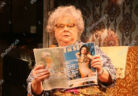 Stock Image of 'Enjoy'  - Carol MacReady as Mrs Clegg