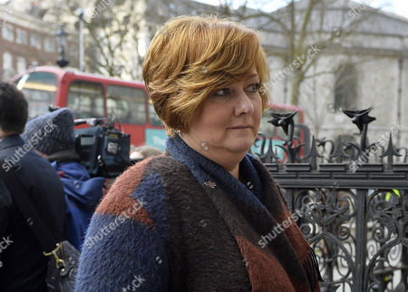 Relatives of victims of the Tunisia terror attack, including Suzanne Evans arrive for the inquest at Royal Courts of Justice in London, Britain, 28 February 2017. An inquest into the attack by a gunman on a Tunisian beach in June 2015, which left 38 people dead, is underway at the Royal Courts of Justice in London. Suzanne Evans Owen son Joel, brother Adrian Evans and father Patrick Evans were all killed in the attack.