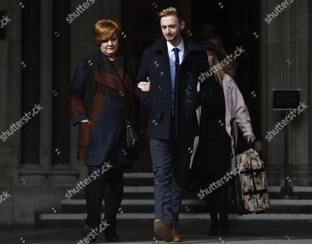 Owen Richards and Suzanne Evans