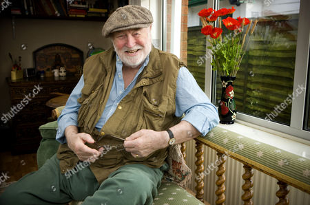 Editorial picture of Bill Maynard at home near Hinckley, Leicestershire, Britain - 30 Jan 2009