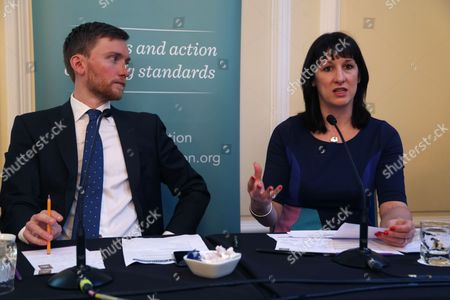 Torsten Bell, Director of the Resolution Foundation and Rachel Reeves MP