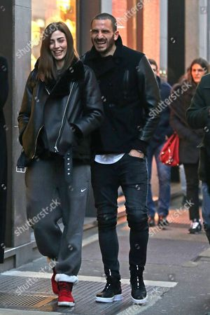 Editorial picture of Leonardo Bonucci out and about, Milan, Italy - 19 Feb 2017