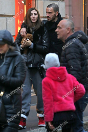 Editorial image of Leonardo Bonucci out and about, Milan, Italy - 19 Feb 2017
