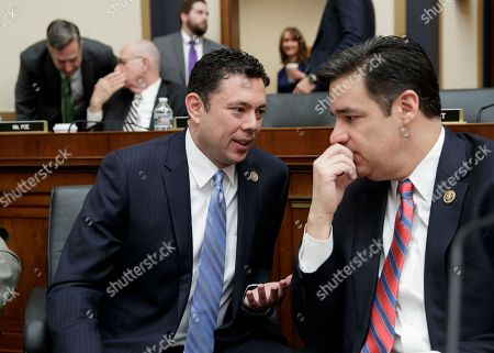 Jason Chaffetz, Raul Labrador Rep. Jason Chaffetz, R-Utah, left, confers with Rep. Raul Labrador, R-Idaho, as the House Judiciary Committee begins a markup session on the Protecting Access to Care Act on Capitol Hill in Washington