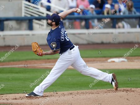 Editorial picture of Royals Brewers Spring Baseball, Phoenix, USA - 28 Feb 2017