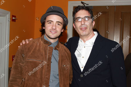 Stock Picture of Vincent Piazza and Jeffrey Blitz