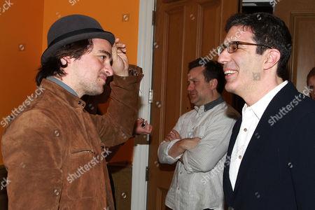 Vincent Piazza and Jeffrey Blitz