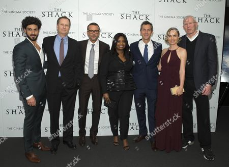 Stock Photo of Avraham Aviv Alush, Michael Burns, Tim McGraw, Octavia Spencer, Erik Feig, Radha Mitchell, Mike Paseornek