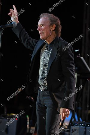 Editorial photo of Gary Wright and Dennis Fly Amero in concert at The Mardi Gras Casino, Hollywood, USA - 28 Feb 2017