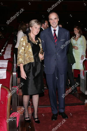 Princess Astrid and Prince Lorenz of Belgium Attend the Second Edition of the Prince Albert Ii of Monaco Foundation's Award Ceremony and the World Premiere of the Film Oceans by French Directors Jacques Perrin and Jacques Cluzaud at Grimaldi Forum in Monaco 10 October 2009 Monaco Monaco