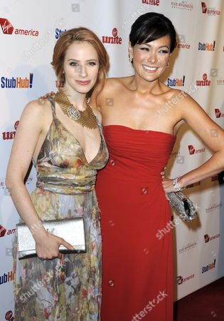 Us Actresses Jamie Ray Newman (l) and Lindsay Price (r) Arrive For the 'Rock the Kasbah Gala' in Los Angeles California Usa 26 October 2009 Sir Richard Branson and Mother Eve Branson Hosted the Event Benefitting Virgin Unite and the Eve Branson Foundation Two Non-profit Foundations United States Los Angeles