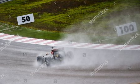 Venezuelan Formula One Driver Pastor Maldonado of Lotus F1 Team in Action During the Third Practice Session at the Circuit of the Americas in Austin Texas Usa 24 October 2015 the United States Formula One Grand Prix Takes Place on 25 October 2015 United States Austin