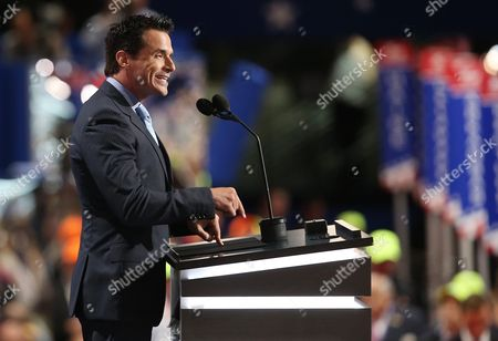 Us Actor Antonio Sabato Jr During the Second Session on the First Day of the 2016 Republican National Convention at Quicken Loans Arena in Cleveland Ohio Usa 18 July 2016 the Four-day Convention is Expected to End with Donald Trump Formally Accepting the Nomination of the Republican Party As Their Presidential Candidate in the 2016 Election United States Cleveland