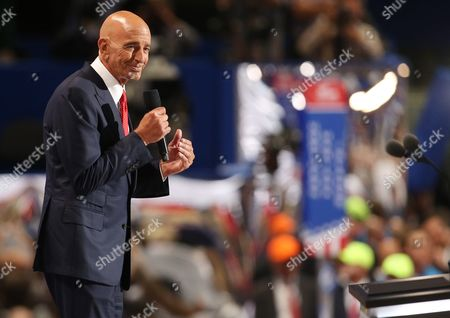 Colony Capital Ceo Tom Barrack Speaks During the Final Day of the 2016 Republican National Convention at Quicken Loans Arena in Cleveland Ohio Usa 21 July 2016 the Four-day Convention is Expected to End with Donald Trump Formally Accepting the Nomination of the Republican Party As Their Presidential Candidate in the 2016 Election United States Cleveland