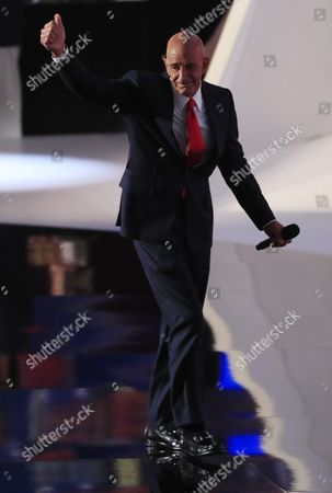 Colony Capital Ceo Tom Barrack Reacts After Speaking During the Final Day of the 2016 Republican National Convention at Quicken Loans Arena in Cleveland Ohio Usa 21 July 2016 the Four-day Convention is Expected to End with Donald Trump Formally Accepting the Nomination of the Republican Party As Their Presidential Candidate in the 2016 Election United States Cleveland