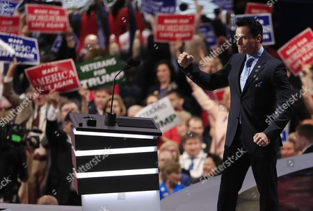 Us Actor Antonio Sabato Jr Speaks During the Second Session on the First Day of the 2016 Republican National Convention at Quicken Loans Arena in Cleveland Ohio Usa 18 July 2016 the Four-day Convention is Expected to End with Donald Trump Formally Accepting the Nomination of the Republican Party As Their Presidential Candidate in the 2016 Election United States Cleveland