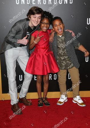 Editorial image of 'Underground' TV Series Season 2 premiere, Arrivals, Los Angeles, USA - 28 Feb 2017