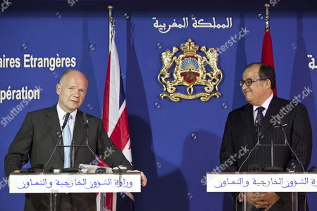 Editorial image of Morocco Britain Foreign Secretary Hague Visit - Oct 2011