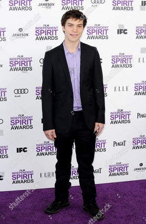 Us Actor Nick Krause Arrives For the 27th Film Independent Spirit Awards in Santa Monica California Usa 25 February 2012 the Spirit Awards Recognizes the Achievements of American Independent Filmmakers and Promotes the Finest Independent Films of the Year to a Wider Audience United States Santa Monica
