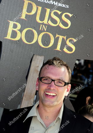 British Film Score Composer Henry Jackman Arrives For the Movie Premiere of 'Puss in Boots' in Los Angeles California Usa 23 October 2011 'Puss in Boots' is the Animated Story of a Cat who is a Fighter a Lover and an Outlaw United States Los Angeles