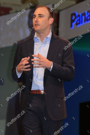 Stock Picture of Myspace Ceo Tim Vanderhook Delivers Remarks at the 2012 International Consumer Electronics Show (ces) in Las Vegas Nevada Usa 09 January 2012 the Annual Ces is a Place where Industry Manufacturers Advertisers and Tech-minded Consumers Converge to Get a Taste of New Gadgets and Innovations Coming to the Market Each Year Ces Runs Until 13 January United States Las Vegas