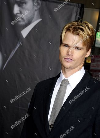 Us Actor and Cast Member Brendan Miller Arrives For the Premiere of 'In Time' in Los Angeles California Usa 20 October 2011 'In Time' is a Futuristic Tale where Life Stops at 25 and the Only Way to Stay Alive is to Earn Steal Or Inherit More Time United States Los Angeles