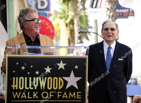 Us Singer Steve Tyrell (l) Speaks About Us Songwriter Hal David (r) During David's Hollywood Walk of Fame Star Ceremony in Hollywood California Usa 14 October 2011 David Received the 2 451st Star on the Hollywood Walk of Fame United States Hollywood