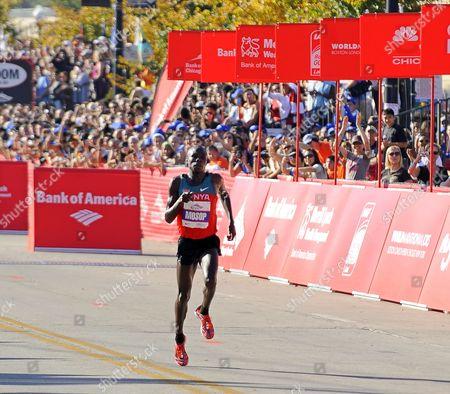 Editorial photo of Usa Marathon Chicago - Oct 2011