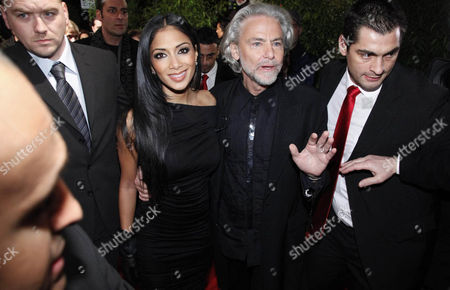 Nicole Scherzinger and Dr. Hermann Buhlbecker