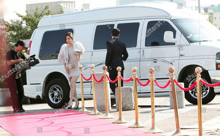 South Korean Singer and Actress Min Hyo-rin Arrives at the 6th Annual Seoul International Drama Awards 2011 Held at the Youido Kbs Hall in Seoul South Korea 31 August 2011 Some 200 Drama Movies From 37 Countries Participate in the Competition Korea, Republic of Seoul