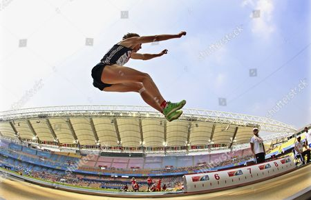 Christopher Tomlinson of Great Britain Competes in the Men's Long Jump Qualification at the 13th Iaaf World Championships in Daegu Republic of Korea 01 September 2011 Korea, Republic of Daegu