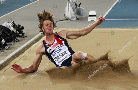 Christopher Tomlinson of Britain Competes in the Men's Long Jump Final at the 13th Iaaf World Championships in Daegu Republic of Korea 02 September 2011 Korea, Republic of Daegu