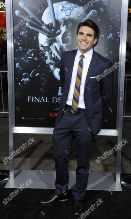 Us Actor and Cast Member Miles Fisher Arrives For a Special Screening of 'Final Destination 5' at Grauman's Chinese Theatre in Hollywood California Usa 10 August 2011 'Final Destination 5' Opens Nationwide on 12 August 2011 United States Hollywood