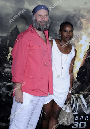 German Director Marcus Nispel (l) and Wife Dyan (r) Arrive For the World Premiere of 'Conan the Barbarian' in Los Angeles California Usa 11 August 2011 the Film Premieres in Europe on 17 August United States Los Angeles