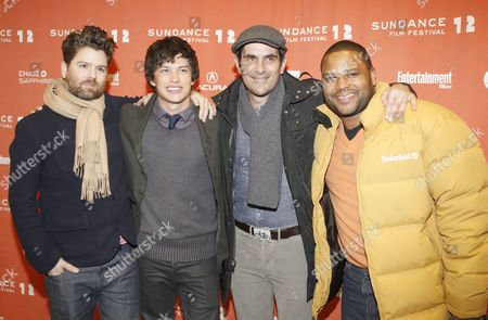Us Director Christopher Neil (l) Actor Graham Phillips (2-l) Actor Ty Burrell (2-r) and Actor Anthony Anderson Arrive For the Premier of the Movie 'Goats' at the 2012 Sundance Film Festival in Park City Utah Usa 24 January 2012 the Festival Runs From the 19 to 29 of January in Park City United States Park City