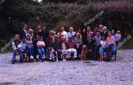 Emmerdale TV Cast 1993 - (L-R Back Row) Josh, as played by Peter Warnock; Kathy, as played by Malandra Burrows; Chris, as played by Peter Amory; Zoe, as played by Leah Bracknell; Frank, as played by Norman Bowler; Ruth, as played by Coral Atkins; Lynn, as played by Fionnuala Ellwood; Peter, as played by Sam Walker; Shirley, as played by Rachel Davies; Turner, as played by Richard Thorp; Amos, as played by Ronald Magill; Lorraine, as played by Nicola Strong; Debbie, as played by Rebekah Joy Gilgan; Mark, as played by Craig McKay; Jayesh, as played by John Leary; Kim, as played by Claire King; Sergeant MacArthur, as played by Martin Dale; Eric, as played by Christopher Chittell; Julie, as played by Ruth Whitehead; Rebecca, as played by Polly Benson. (L-R Front Row) Scott, as played by Toby Cockerell; Viv, as played by Deena Payne; Kelly, as played by Adele Silva; Vic, as played by Alun Lewis; Donna, as played by Sophie Jeffries; Sarah, as played by Madeleine Howard; Robert, as played by Christopher Smith; Jack, as played by Clive Hornby; Rachel, as played by Glenda McKay; Seth, as played by Stan Richards; Michael, as played by Matthew Vaughan; Elizabeth, as played by Kate Dove; and Nick, as played by Cy Chadwick.