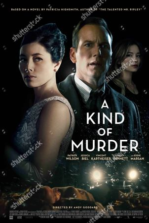 "Poster art from the film ""A Kind Of Murder"""