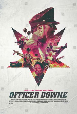 "Poster art form the film ""Officer Downe"""