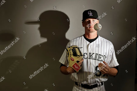 This is a 2017 photo of pitcher Sam Howard of the Colorado Rockies baseball team poses for a portrait. This image reflects the Athletics active roster as of, when this image was taken