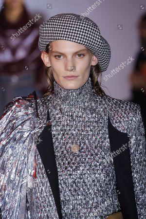Editorial photo of Wanda Nylon show, Runway, Autumn Winter 2017, Paris Fashion Week, France - 01 Mar 2017