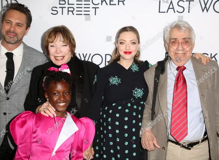 Stock Image of Thomas Sadoski, Shirley MacLaine, AnnJewel Lee Dixon, Amanda Seyfried, Philip Baker Hall
