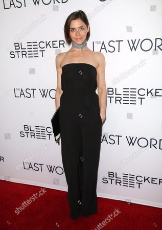 Editorial image of 'The Last Word' film premiere, Arrivals, Los Angeles, USA - 01 Mar 2017