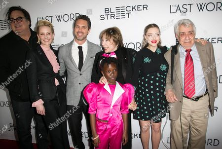 Stock Picture of Mark Pellington, Anne Heche, Thomas Sadoski, Shirley MacLaine, Ann'Jewel Lee, Amanda Seyfried, Philip Baker Hall