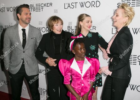 Stock Image of Thomas Sadoski, Shirley MacLaine, Amanda Seyfried, AnnJewel Lee Dixon, Anne Heche