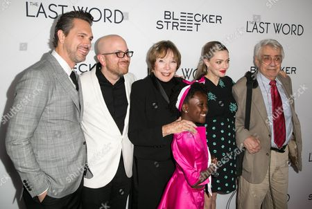 Stock Image of Thomas Sadoski, Stuart Ross Fink, Shirley MacLaine, Ann'Jewel Lee, Amanda Seyfried, Philip Baker Hall