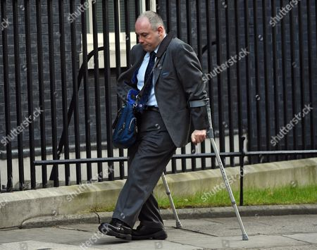 British Minister Without Portfolio Robert Halfon Arrives at the Weekly Cabinet Meeting at 10 Downing Street in London Britain 23 February 2016 United Kingdom London